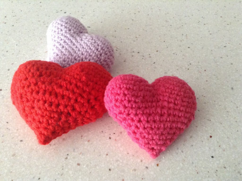 Corazón 3D crochet2